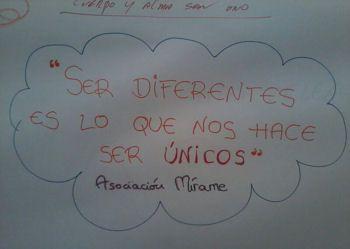 """""""Ser diferentes es lo que nos hace ser únicos"""""""